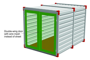 Double-wing door with wire mesh instead of sheet.jpg